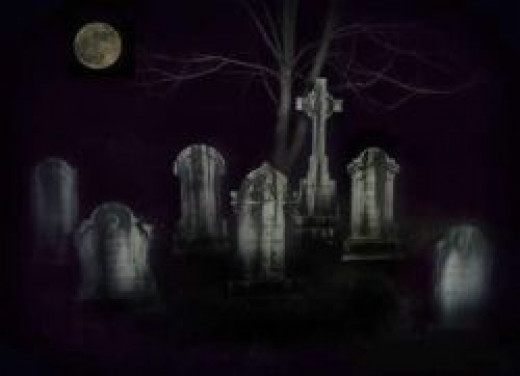Ghostly Gravestones