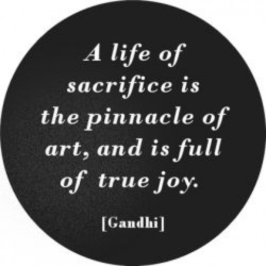 One of Gandhis best quotes!