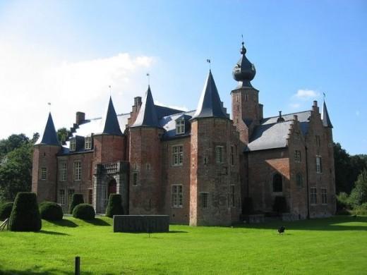 Castle of Rumbeke Belgium