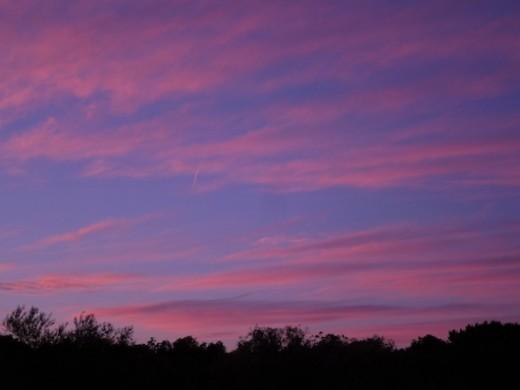 Scene 3, dusk/dawn setting.