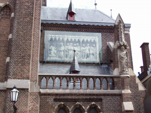 Sint Jacobusparochie, The Hague, The Netherlands, the church where Catharina le Chasseurs body has been buried in hallowed ground?