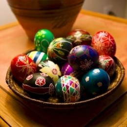 Easter Eggs by Avelino Maestas