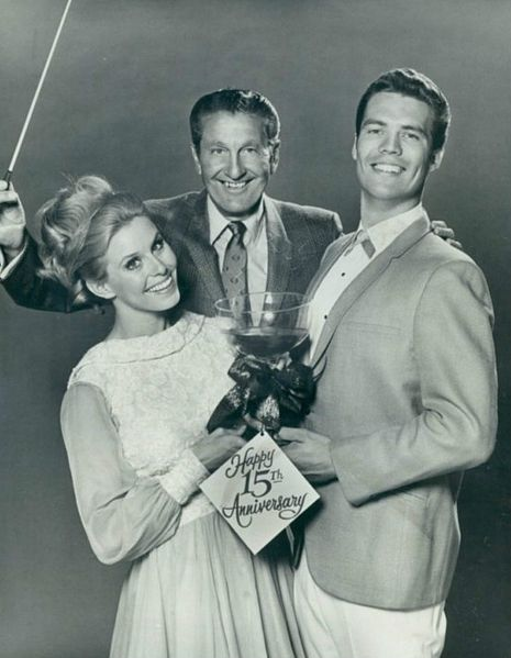 Lawrence Welk with Cissy and Bobby