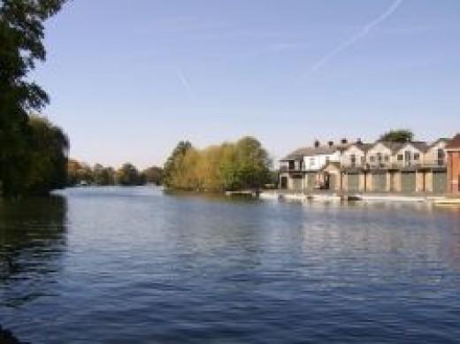 The River Thames at Windsor