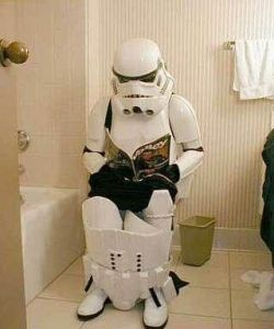 Star Wars Toilet Trooper