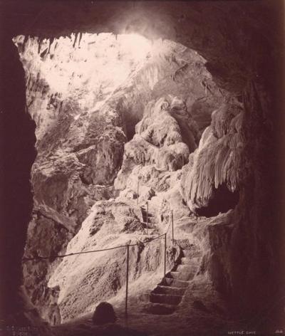 Nettle Cave, Jenolan Caves (photo taken c1888)
