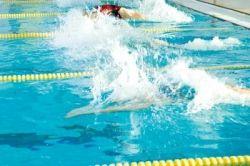 Navy PT Test Swimming