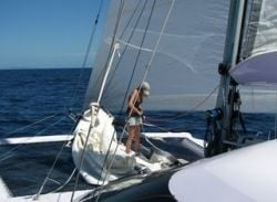 Jess in early sailing times