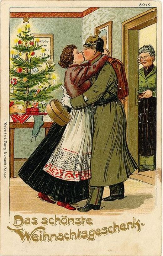 World War I Christmas