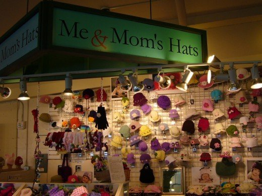 Crafters at the Pike Place Market