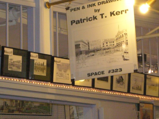 Artist Patrick Kerr's Shop at the Pike Place Market