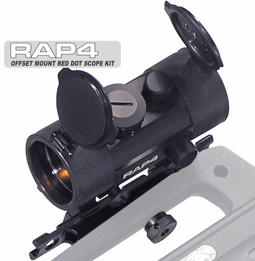 Red Dot Scope Kit with Offset Mount Kit