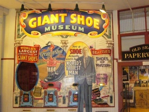 Or visit a Giant Shoe Museum