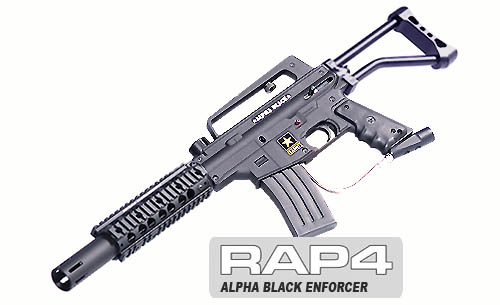 Alpha Black Enforcer/skeleton buttstock