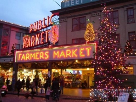 Pike Place Market Entrance