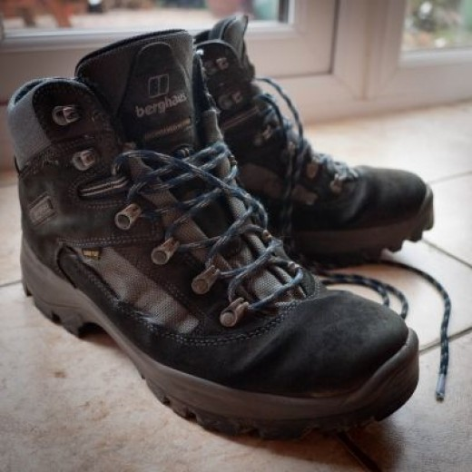 My Cleaner Hiking Boots!