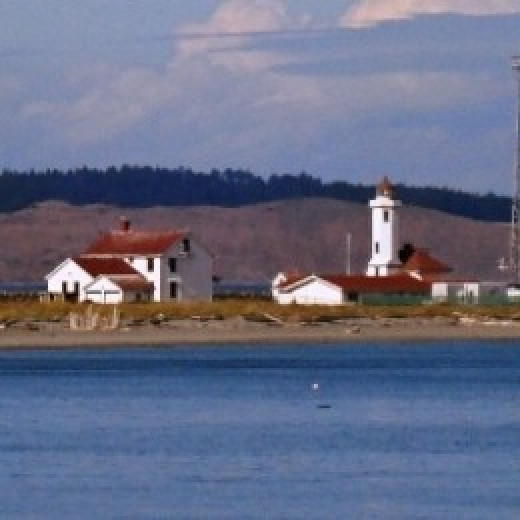 Point Wilson Lighthouse near Port Townsend, WA