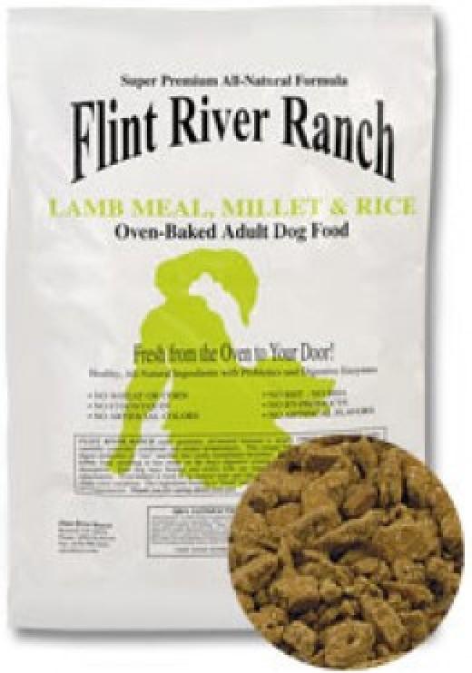 Flint River Ranch Lamb Millet & Rice Dog Food