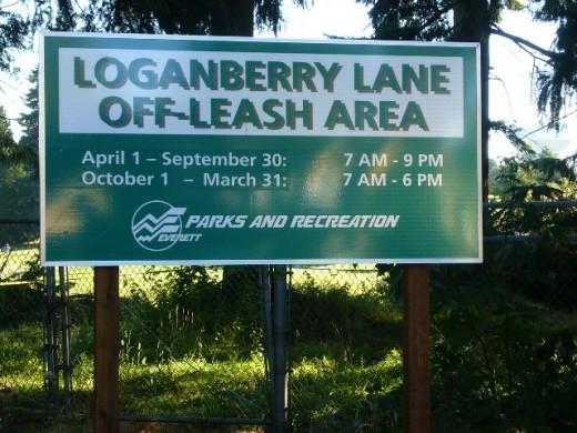 8am - Loganberry Lane Dog Park, Everett-WA