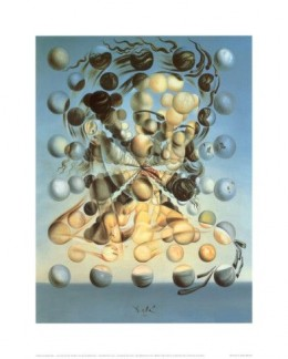 Salvadore Dali's 1952 work, Galatea of the Spheres, is just one of the many hundreds of works that earned Dali a reputation as a fine artist. This image available in a print format from AllPosters.com.