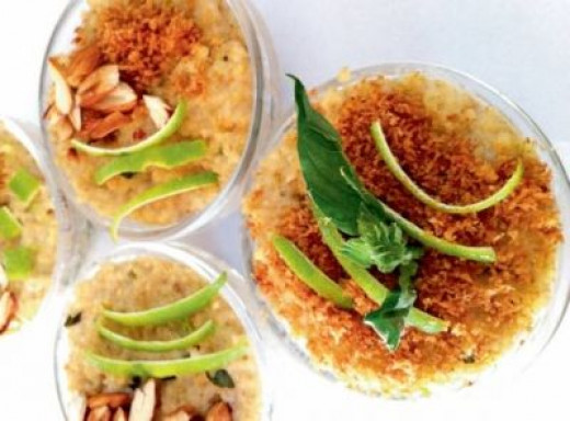 COCONUT LIME MILLET PUDDING