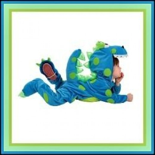 Everett the Dragon Baby Costume