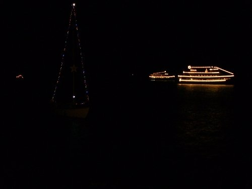 More boats join the Christmas Ship Parade