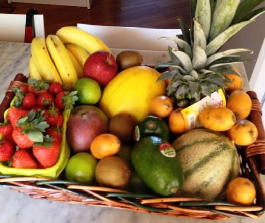 fruit Basket by Maena from morguefile.com