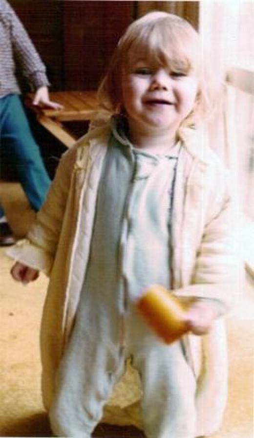 Margaret at 9 months