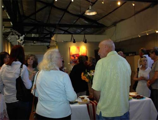 Artists' Reception for Ranch Dressing Exhibit Sponsored by the Paso Robles Art Association