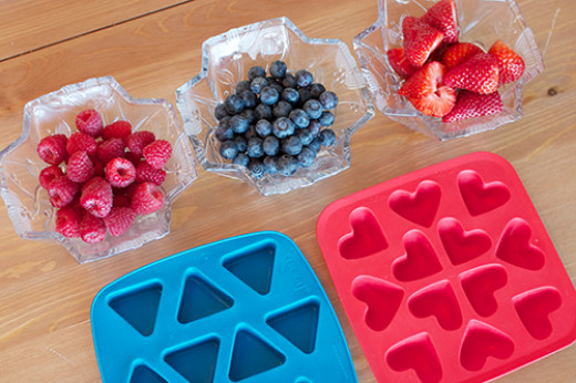 Fruity Decorative Ice Cubes