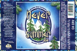"The winter seasonal, ""For the drinking town with a skiing problem.""  (image from: www.beerme.com)"