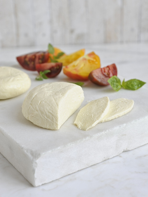 One-Hour Cheese's Favorite Melty Mozzarella. (Courtesy Workman Publishing)