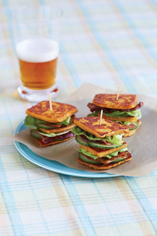 Mmmmmm! Grilled Cheese Sammies made with cheese you crafted yourself! (Courtesy Workman Publishing.)