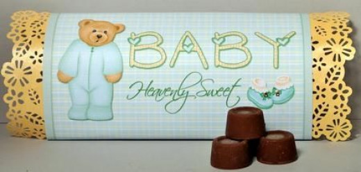 Printable Baby Shower Candy Bar Wrappers