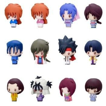 Available from end June 2012. The RuroKen Character Fortune Series from MegaHouse! 399 Yen each.