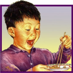 Easy to use training chopsticks for kids