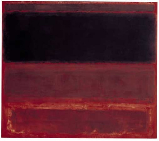 Mark Rothko, Four Darks in Red (1958)Photo by http://www.guardian.co.uk