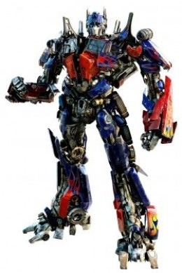 Optimus Prime Wall Decal