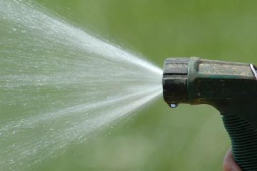 watering your garden