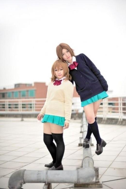 Ayano and Chizuru Cosplay