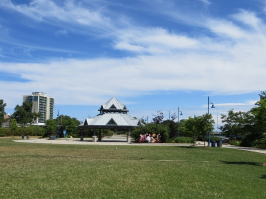 Port Credit Memorial Park Gazebo.