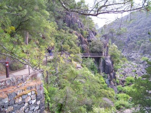 walkway Cataract Gorge