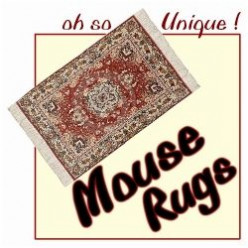 Chic Mouse Pads That Look Like Persian Rugs  ~  Mouse Rugs !