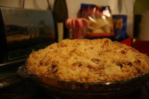 Caramel Apple Pecan Pie. Picture by mmmarilyn