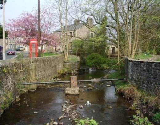 Sabden Brook, Lancashire, UK