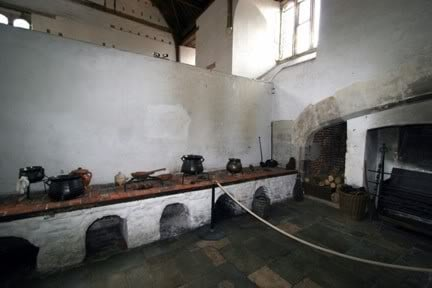 The Kitchens of Hampton Court as they were at the time of Henry VIII