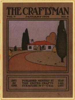 The Craftsman Magazine 1904 published by Gustav Stickley