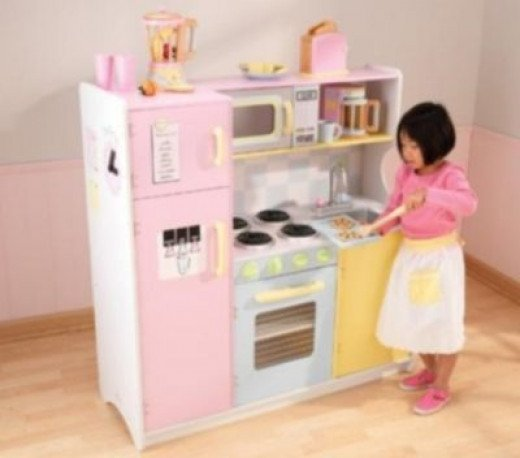 KidKraft kitchen playsets - great for imaginative play