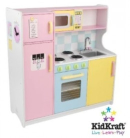 Lovely colored kitchen playset